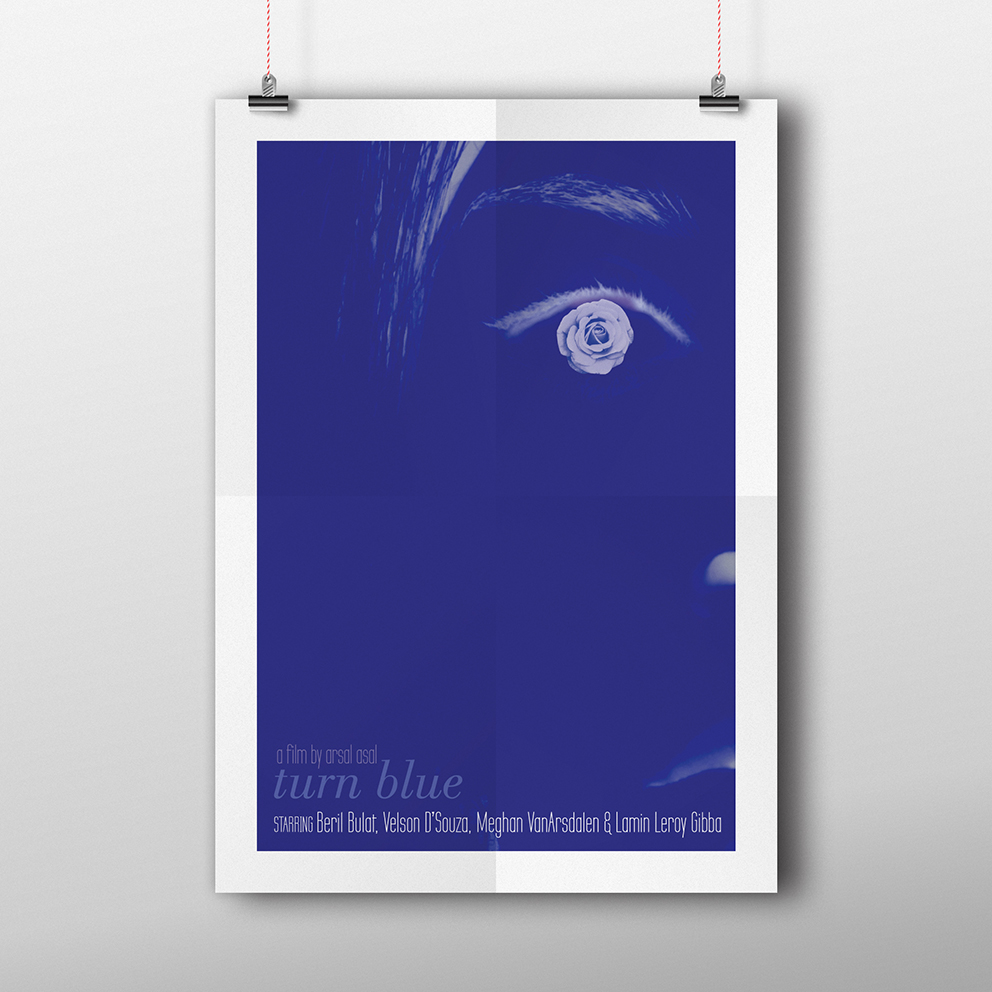 turn blue poster